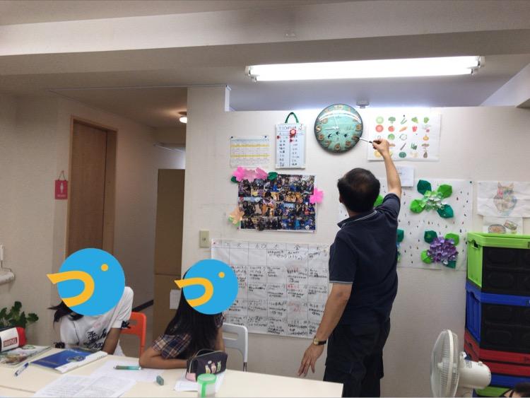 [台風一過]8/16(晴)豊中つばめ塾開講レポ
